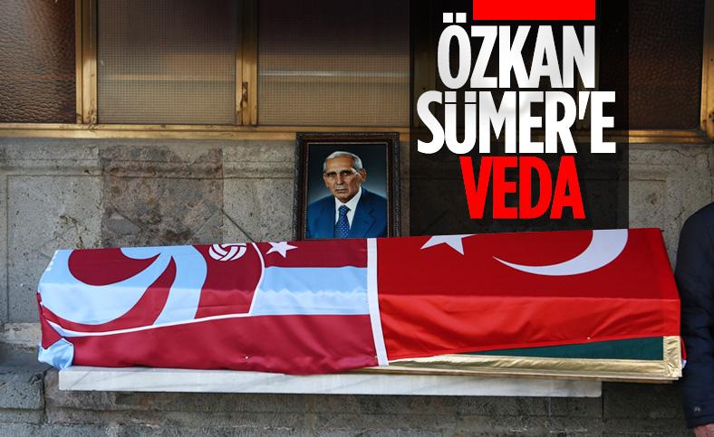 Özkan Sümer son yolculuğuna uğurlandı