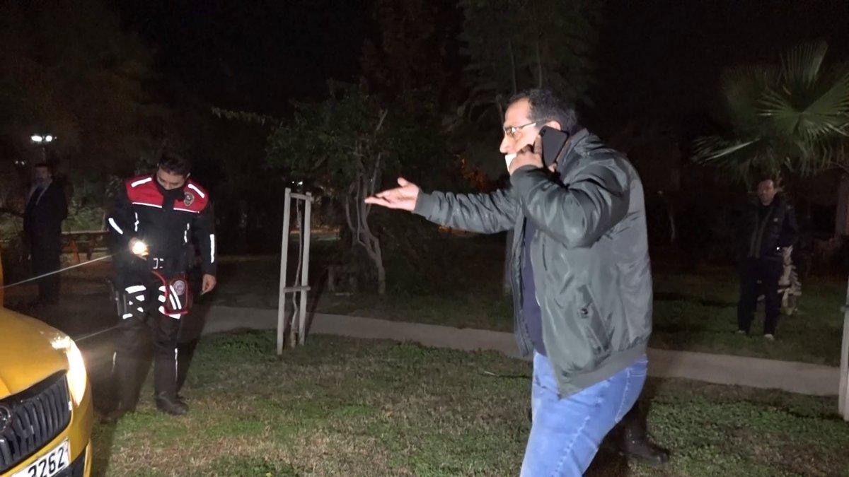 Antalya da taksi çalan şüpheli, polis tarafından yakalandı #1