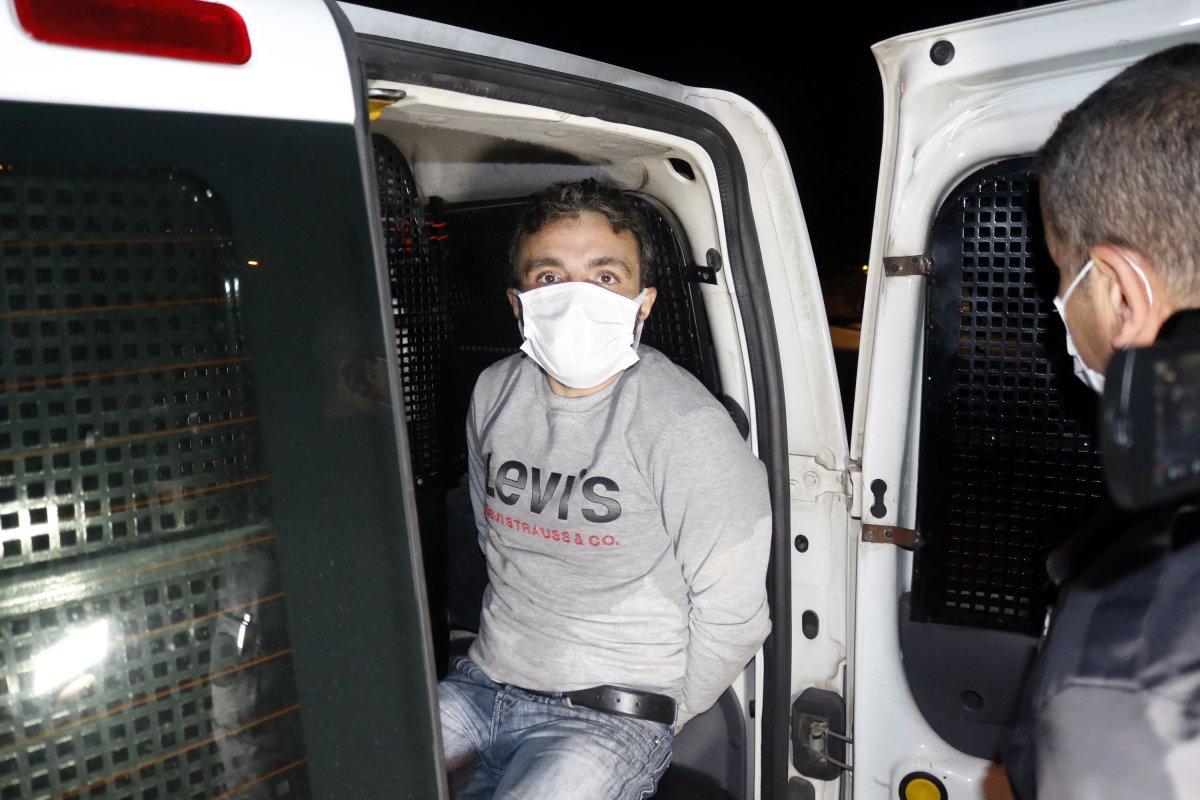 Antalya da taksi çalan şüpheli, polis tarafından yakalandı #5