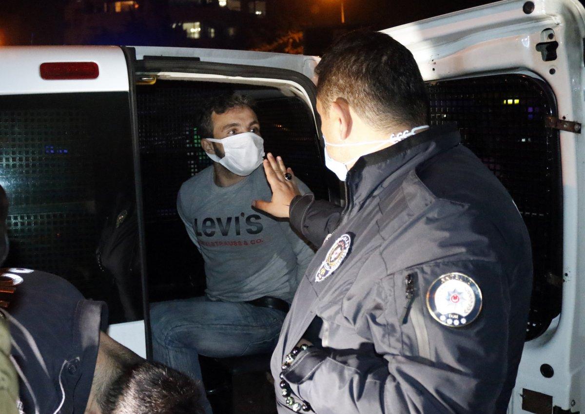 Antalya da taksi çalan şüpheli, polis tarafından yakalandı #3