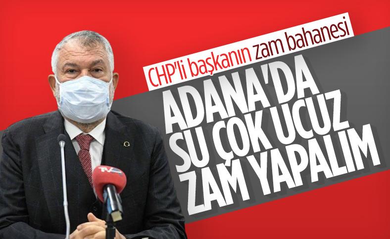 Zeydan Karalar: Adana'nın suyu ucuz, zam yapmayı düşünüyoruz
