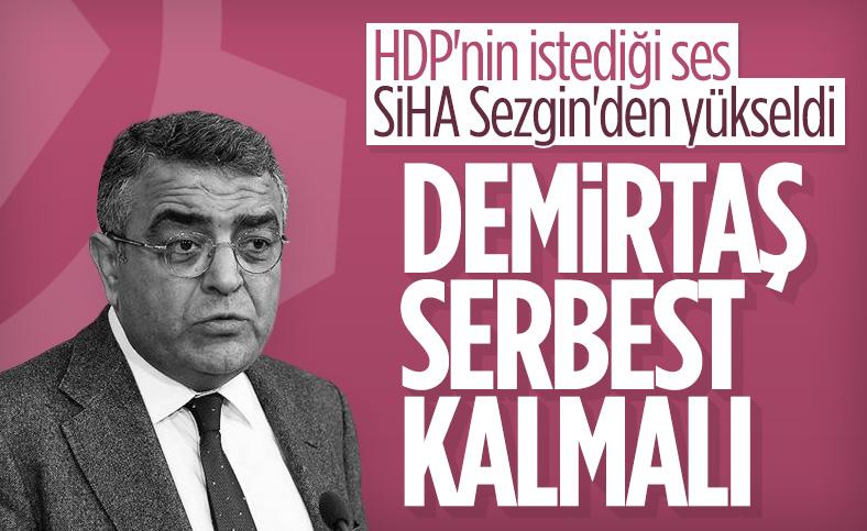 CHP'li Sezgin Tanrıkulu, Selahattin Demirtaş'ın tahliyesini istedi