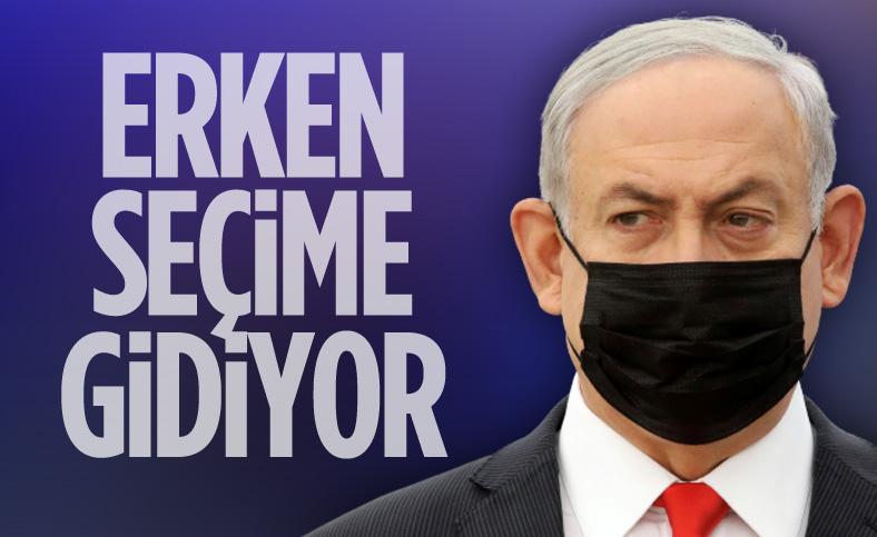 İsrail, erken seçime gidiyor