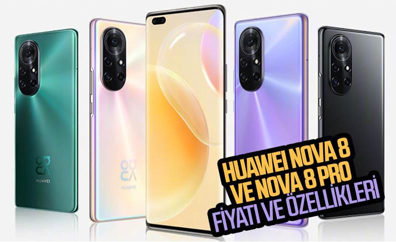 Huawei Nova 8 ve Nova 8 Pro, etkileyici tasarımlarıyla tanıtıldı: İşte fiyatları