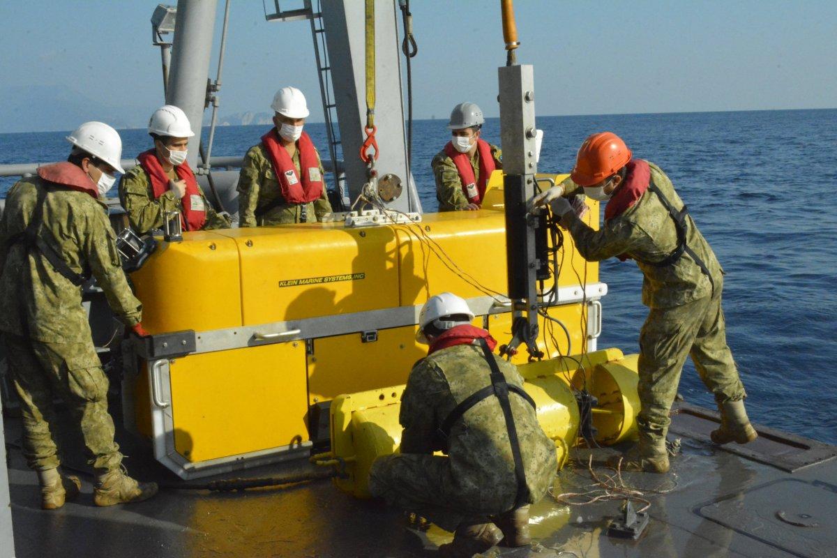 MSB: Cumhuriyet tarihinin en derin sonar görüntüleme operasyonu icra edildi  #2