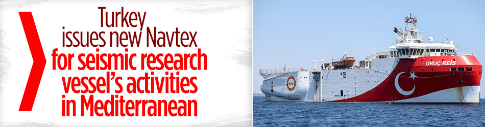 Turkey issues new Navtex for seismic research vessel's activities