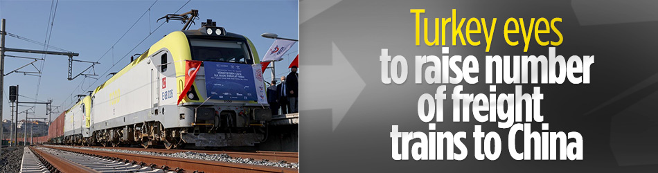 Turkey eyes to raise number of trade trains to China
