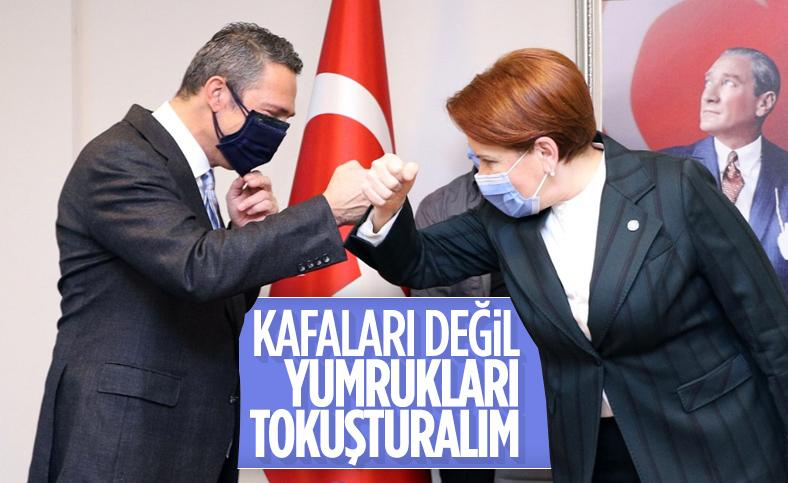 Ali Koç'tan Meral Akşener'e ziyaret