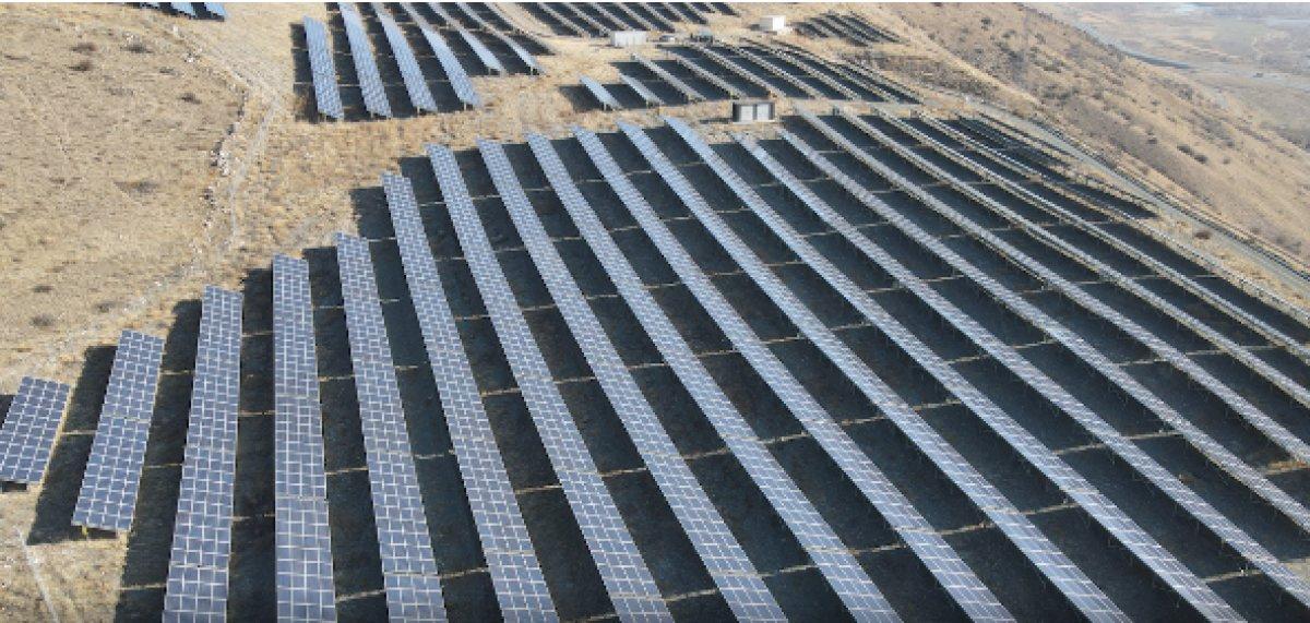 Erzincan da güneşten üretilen elektrikle 3 bin 600 hanenin ihtiyacı giderildi #1