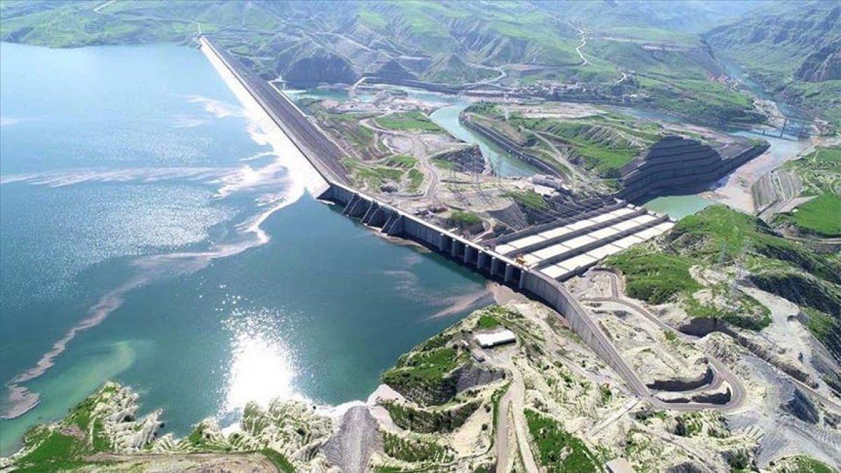 Ilısu Barajı nda tam kapasiteyle elektrik üretimi başladı #1
