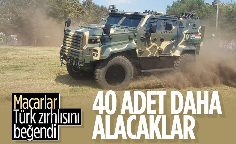 Macaristan, Türkiye'den 40 zırhlı araç daha alacak