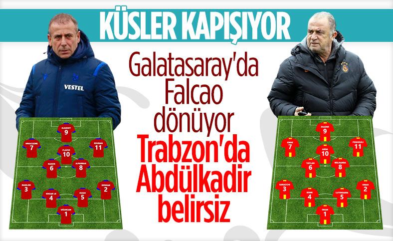 Trabzonspor-Galatasaray maçına doğru