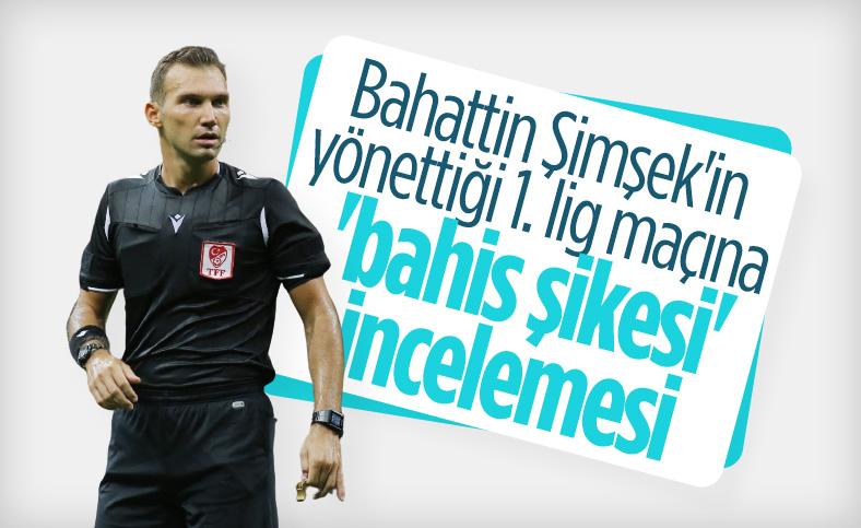 Bursaspor-Menemenspor maçına bahis şikesi incelemesi