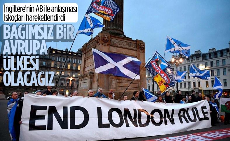 İskoçya Başbakanı Sturgeon'dan 'bağımsızlık' açıklaması