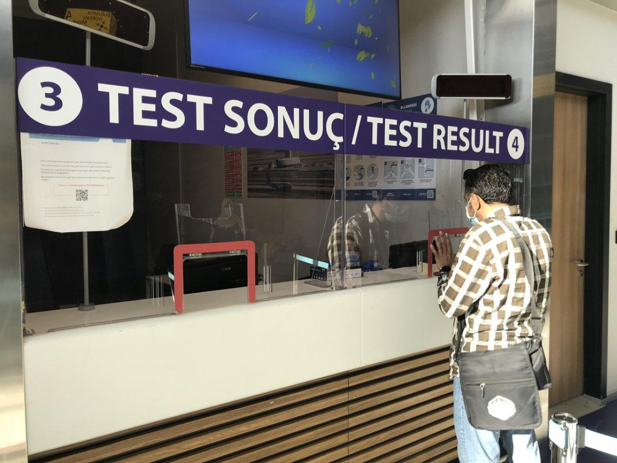 Yurt dışından gelen yolcular, negatif test ibraz edecek  #1