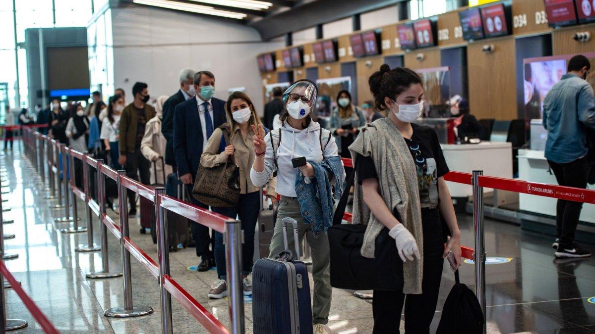 Yurt dışından gelen yolcular, negatif test ibraz edecek  #2