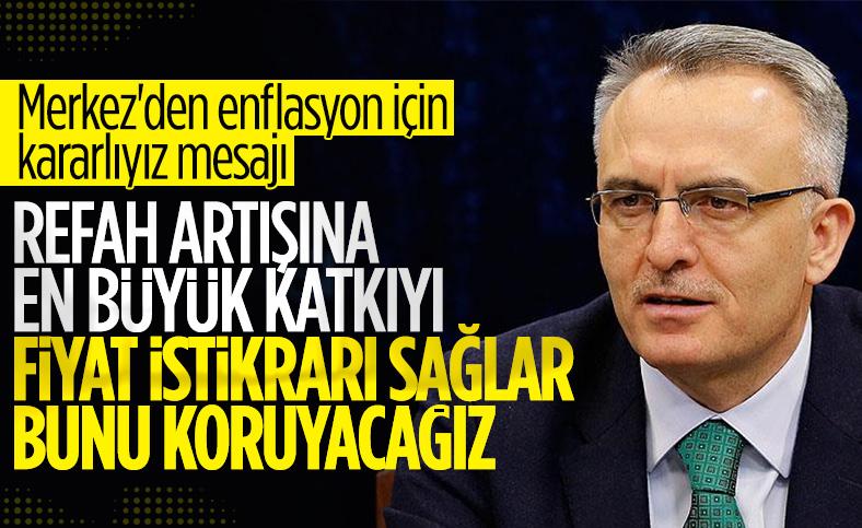Naci Ağbal: Fiyat istikrarı korunacak