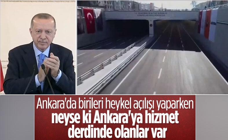 Gölbaşı Şehir Geçişi, Cumhurbaşkanı Erdoğan'ın katılımıyla açıldı