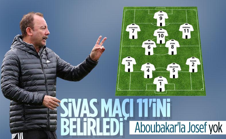 Sergen Yalçın'ın Sivasspor maçı 11'i