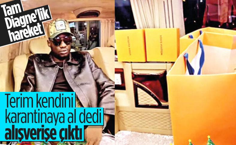 Kadroya alınmayan Mbaye Diagne alışverişe çıktı
