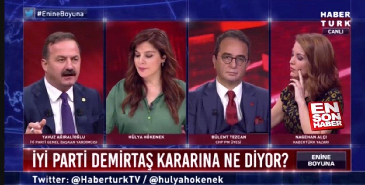 İyi Partili Yavuz Ağıralioğlu: Demirtaş kararına saygı duyulmalı  #1