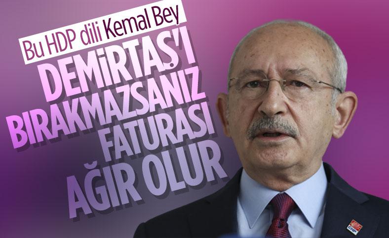 Kemal Kılıçdaroğlu: Selahattin Demirtaş tahliye edilmeli