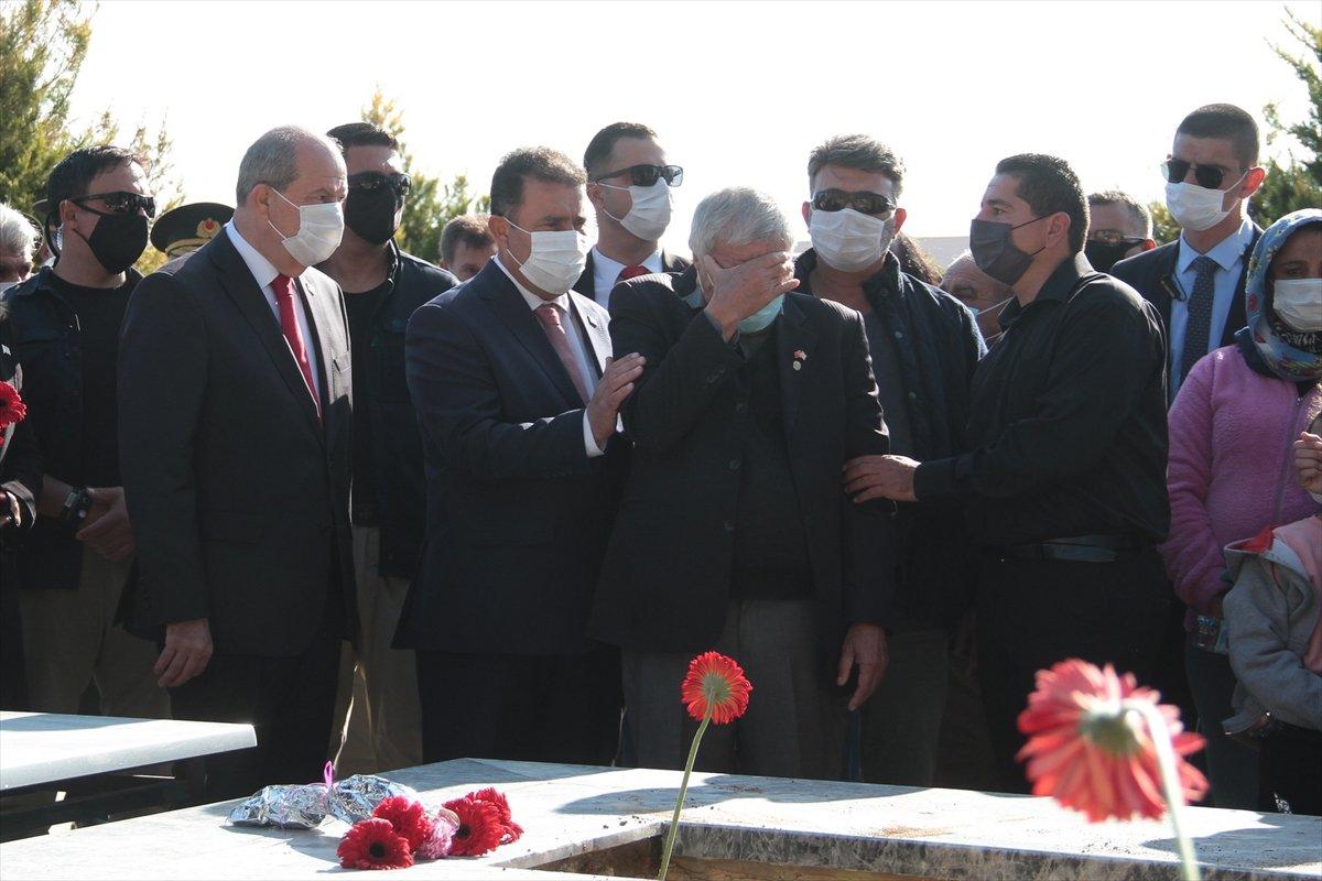 KKTC de katledilen 14 şehit, 46 yıl sonra toprağa verildi #2