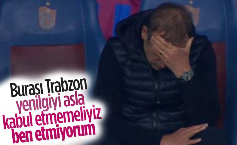 Abdullah Avcı: Trabzonspor kabul etmez ben etmiyorum