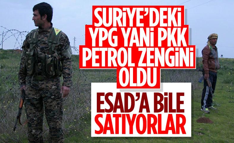 Terör örgütü PKK, Suriye'de Esad rejimine petrol satıyor