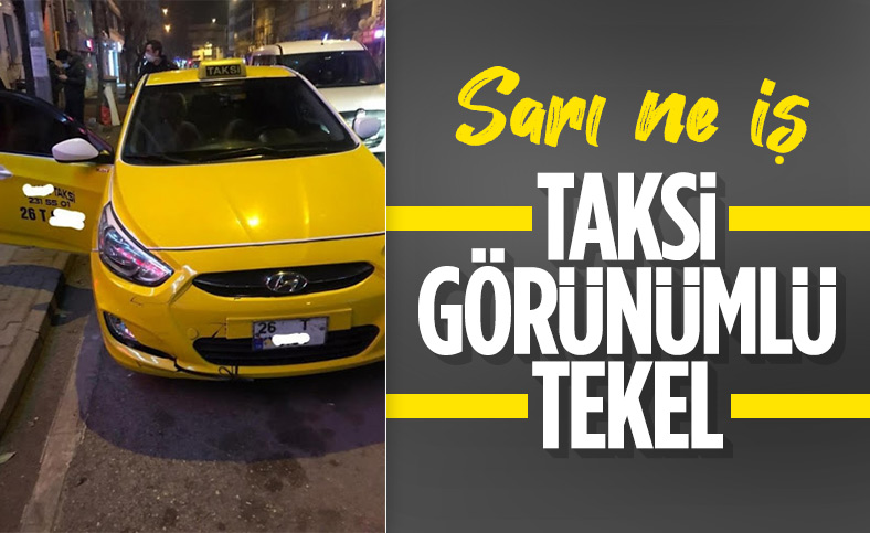 Eskişehir'de ticari takside içki satarken yakalandılar