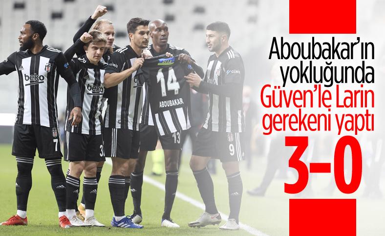 Beşiktaş, Sivasspor'u 3 golle geçti