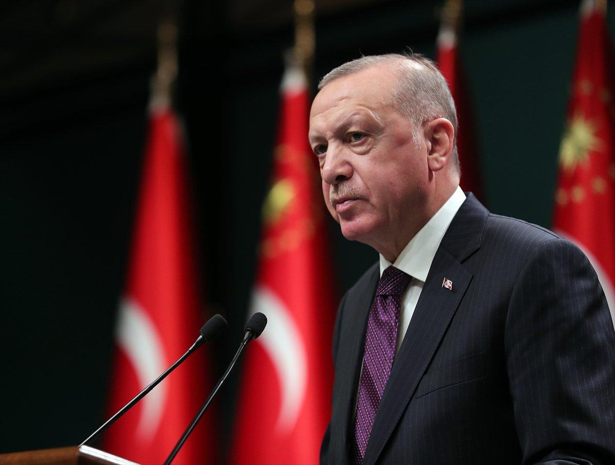 Cumhurbaşkanı Erdoğan: Yüz yüze eğitime verdiğimiz arayı 15 Şubat a kadar uzatıyoruz #1