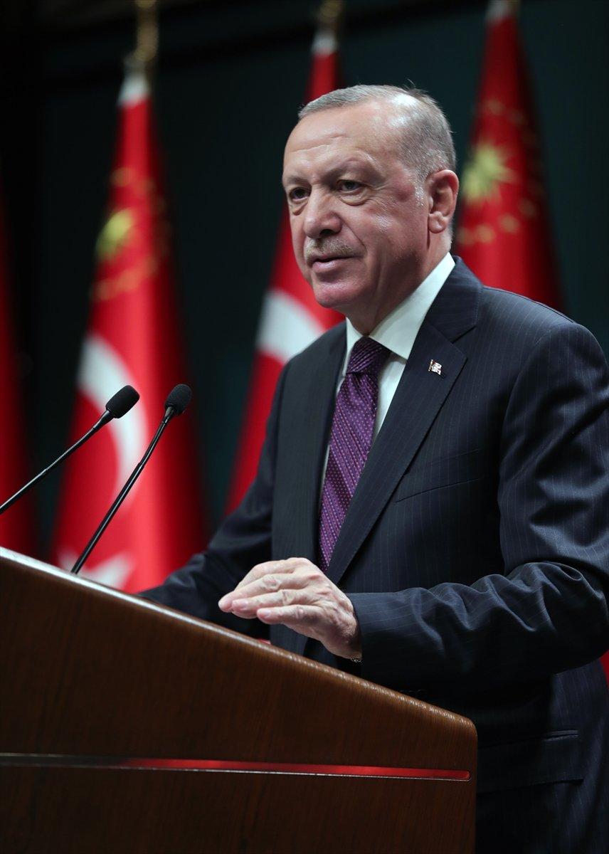 Cumhurbaşkanı Erdoğan: Yüz yüze eğitime verdiğimiz arayı 15 Şubat a kadar uzatıyoruz #3