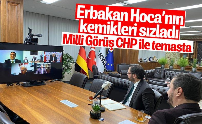 Kılıçdaroğlu, Milli Görüş Vakfı yöneticileri ile görüştü