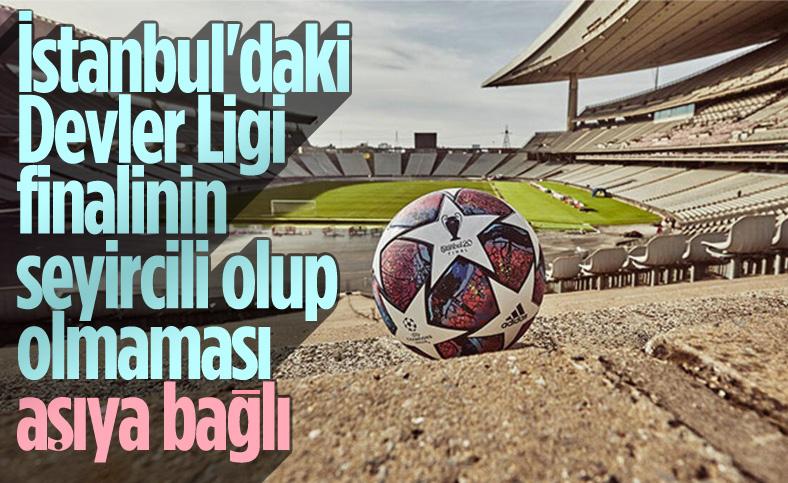 UEFA Başkanı Ceferin: İstanbul'da final seyircili olacak gibi çalışıyoruz