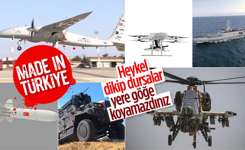 Türk savunma sanayisinin 2020'de göz dolduran başarıları