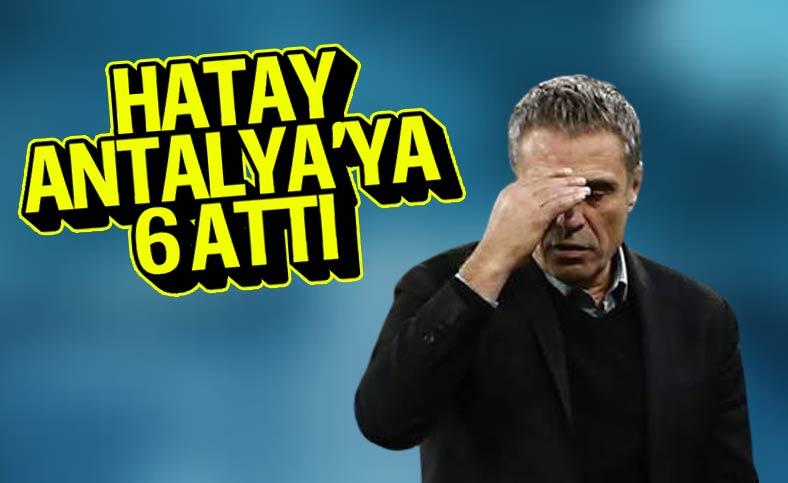 Hatay, Antalya'ya gol oldu yağdı