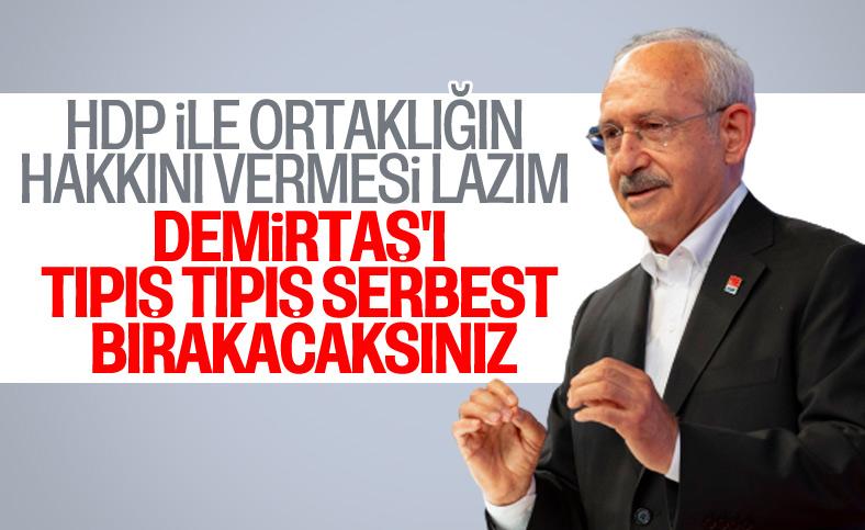 Kılıçdaroğlu: Demirtaş kararını tıpış tıpış uygulayacaklar