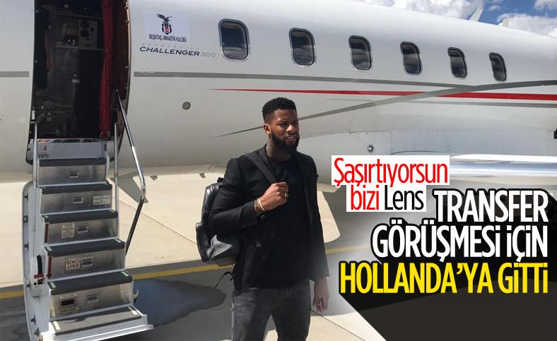 Jeremain Lens transfer görüşmesi için Hollanda'ya gitti