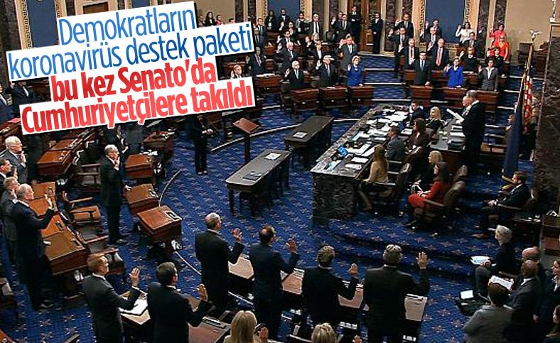 ABD'de korona yardımının 2 bin dolara çıkarılması Senato'ya takıldı