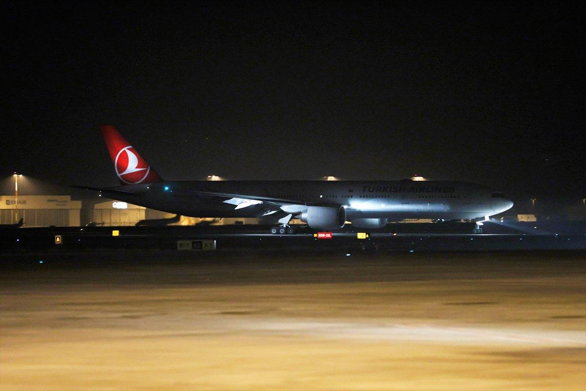 Çin den sipariş edilen koronavirüs aşılarını taşıyan uçak iniş yaptı #2