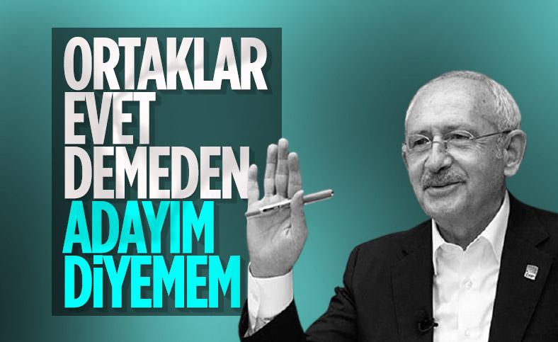Kemal Kılıçdaroğlu: Cumhurbaşkanı adayı olacağıma Millet İttifakı karar verir