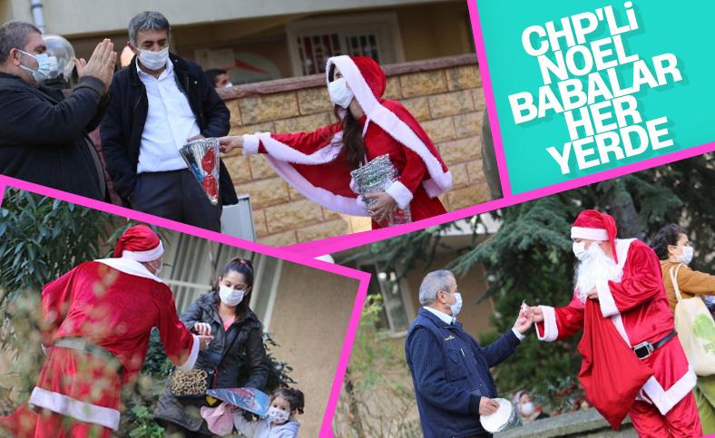 CHP'li belediyeden yılbaşı kutlaması