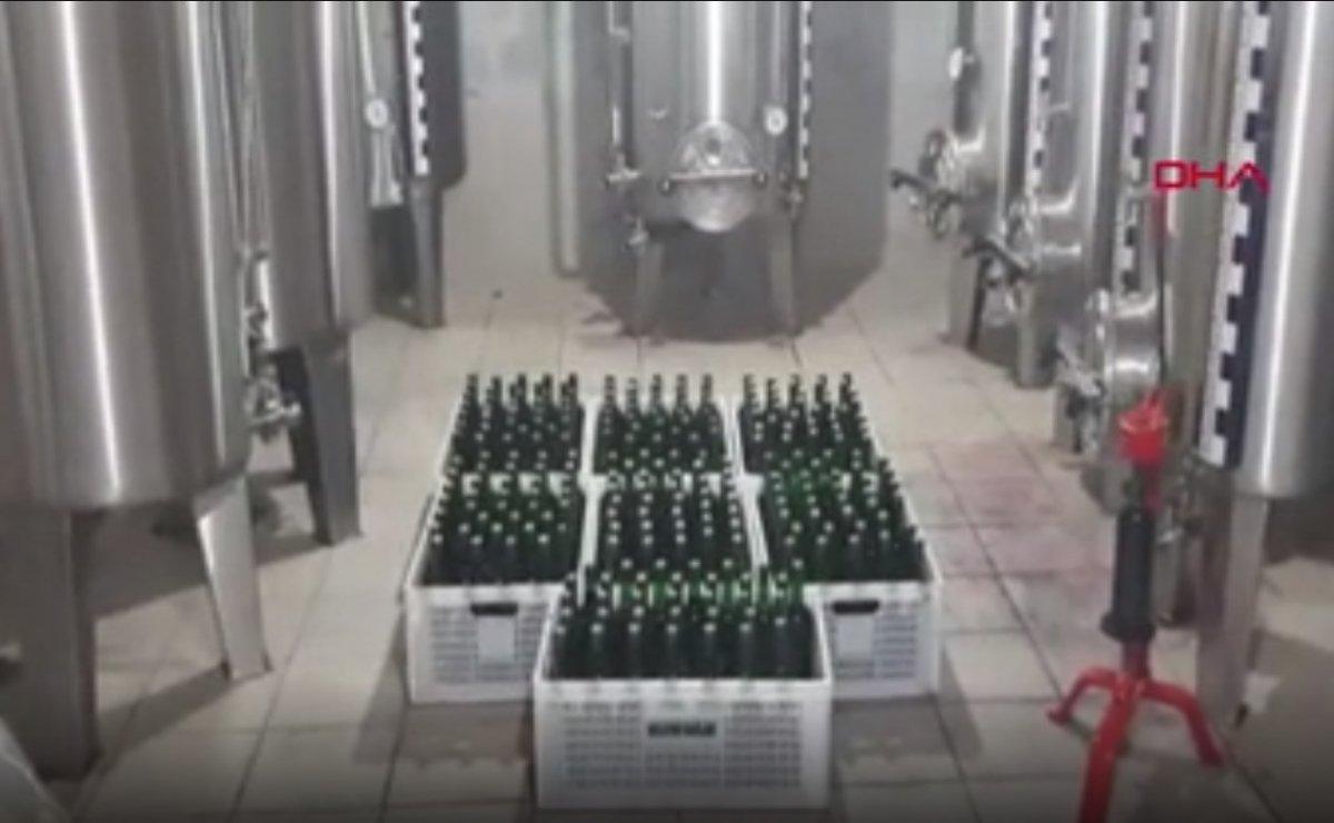 Bursa'da yılbaşı gecesi öncesi 10 ton sahte içki ele geçirildi #8