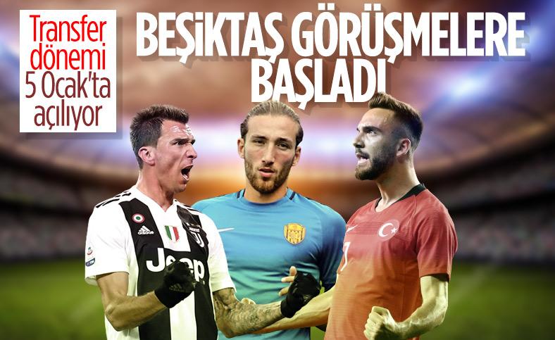 Beşiktaş forvete ve savunmaya takviye yapacak