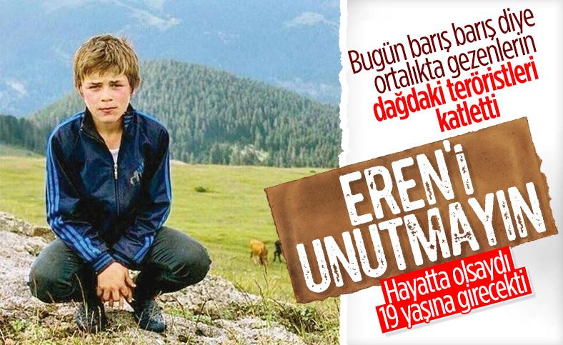 Eren Bülbül yaşasaydı, 19 yaşına girecekti