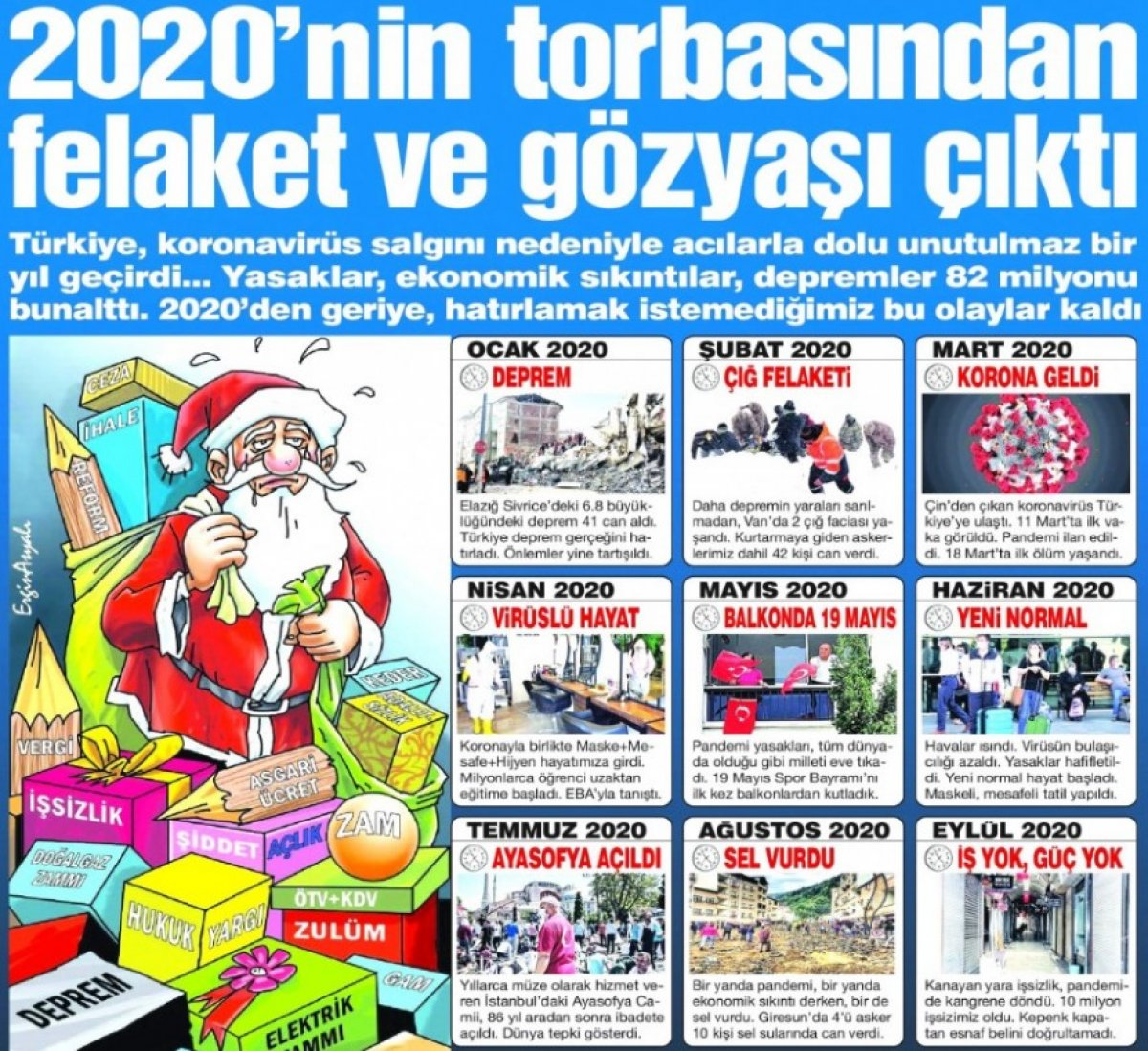 Sözcü gazetesi Ayasofya nın ibadete açılmasını felaket olarak gördü #1