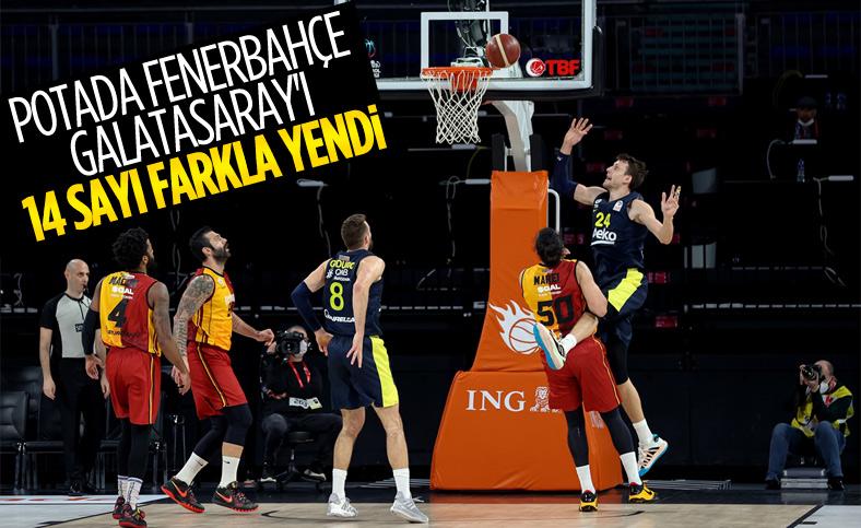 Potada Fenerbahçe, Galatasaray'ı rahat yendi