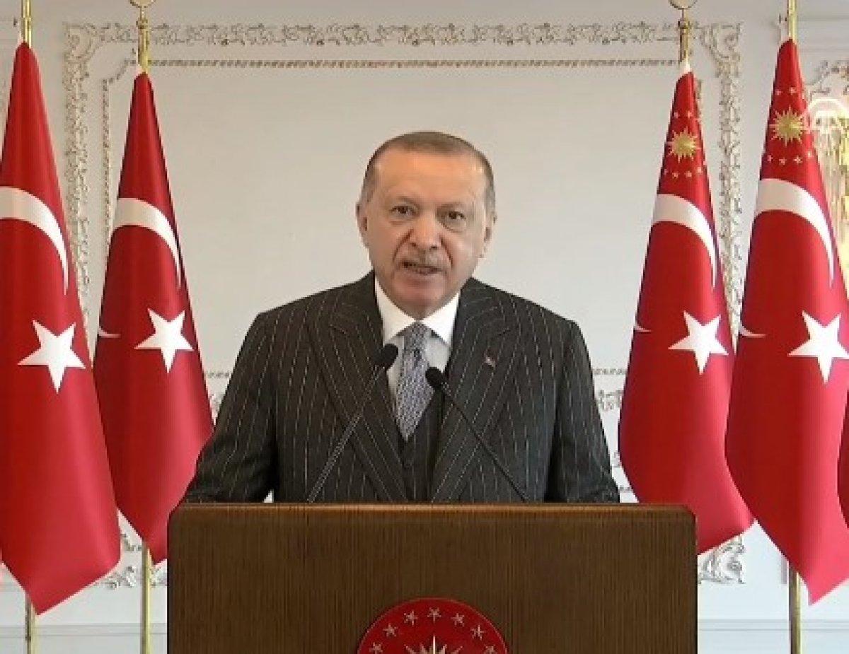 Cumhurbaşkanı Erdoğan: 2021 her alanda şahlanış yılımız olacak #1