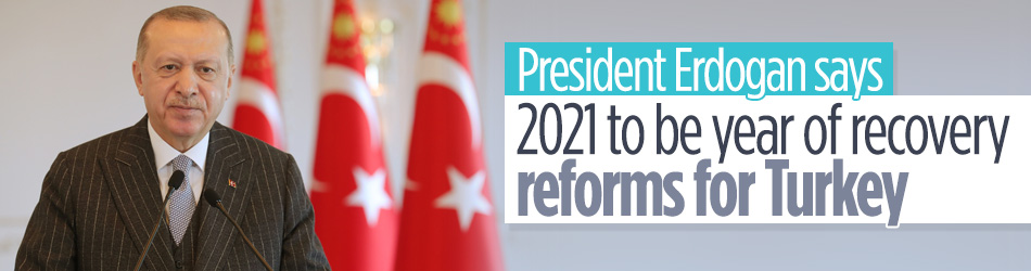 Turkey to leap forward in new year: President Erdogan